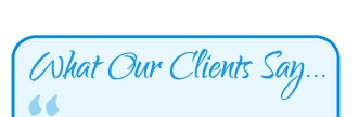 what-our-clients-say