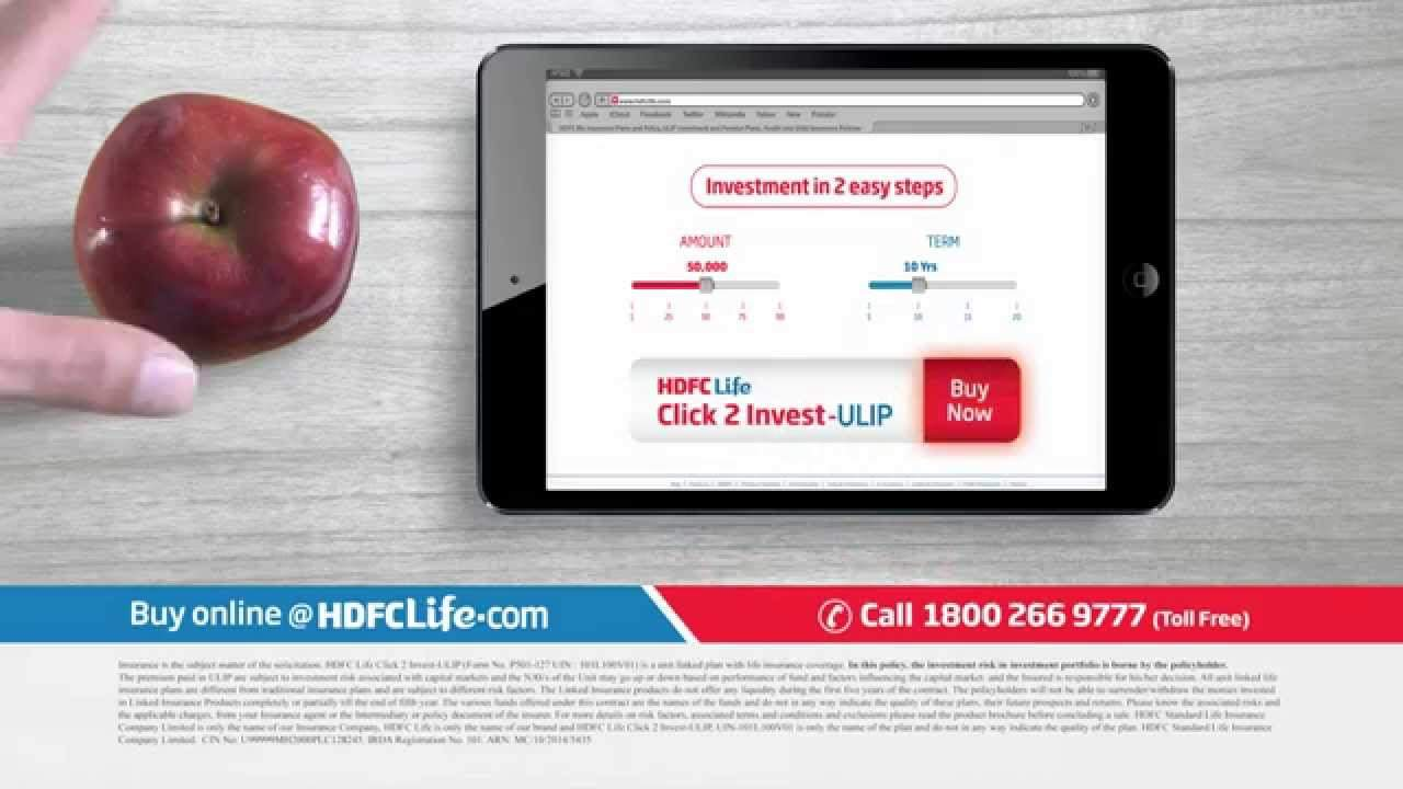 hdfc click to invest
