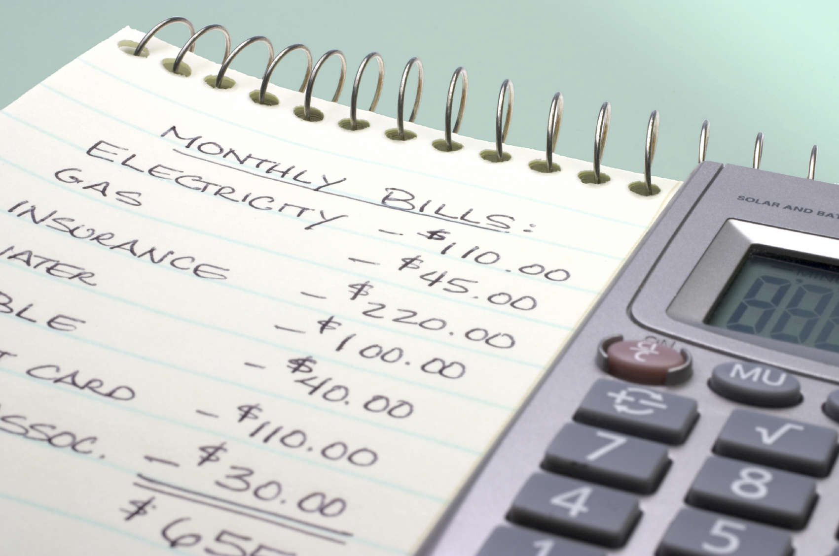 budgeting  u2013 be aware of your expenses
